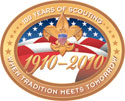 Celebrating 100 years of Scouting